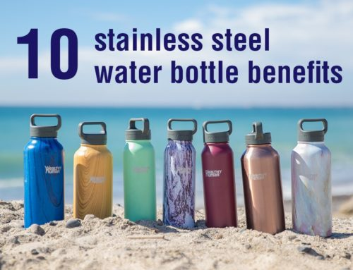 10 Stainless Steel Water Bottle Benefits