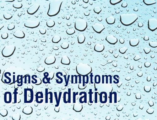 Signs and Symptoms of Chronic Dehydration