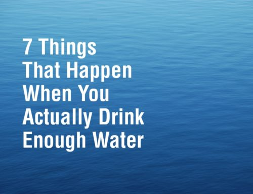 7 Things That Happen When You Actually Drink Enough Water
