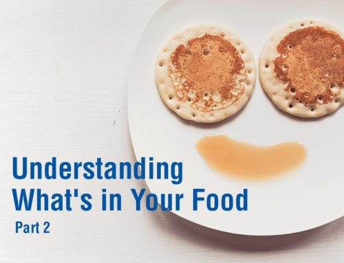 Understanding What's in Your Food – Part II
